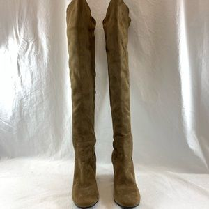 b66b98ea624 Treasure   Bond Shoes - Treasure   Bond Lynx Stretch Over the Knee Boot